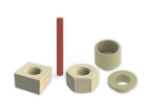 Dotherm termoizolační materiál, Doceram, průmyslová keramika, ceramic components