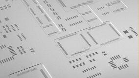 Christian Koenen, sítotiskové šablony a síta